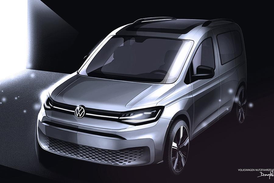 Volkswagen показал новые изображения свежего Caddy