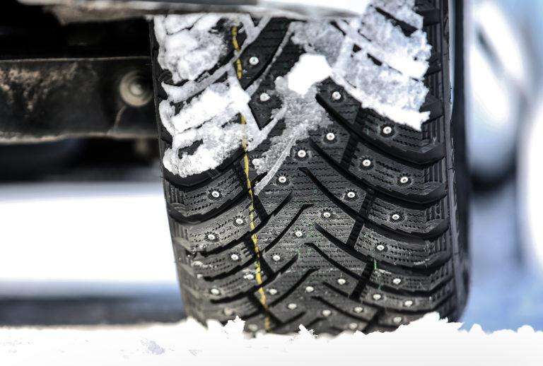 Новые шипованные шины Kontio Ice Paw дебютировали на полигоне в Ивало