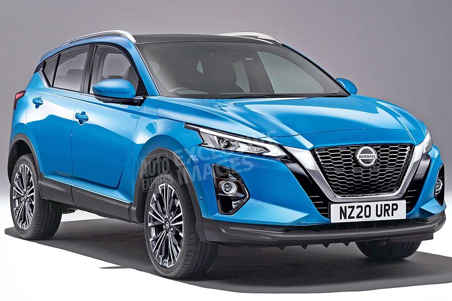 Новый Nissan Qashqai показали на рендерах