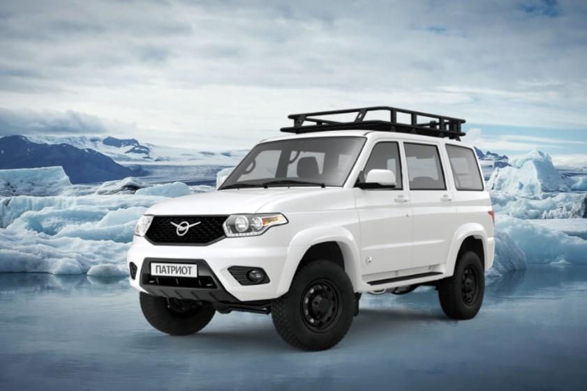 «УАЗ Патриот» Antarctic Edition поступил в продажу