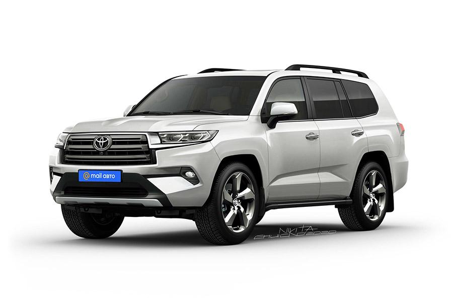 Toyota опровергла очередные слухи о Land Cruiser 300