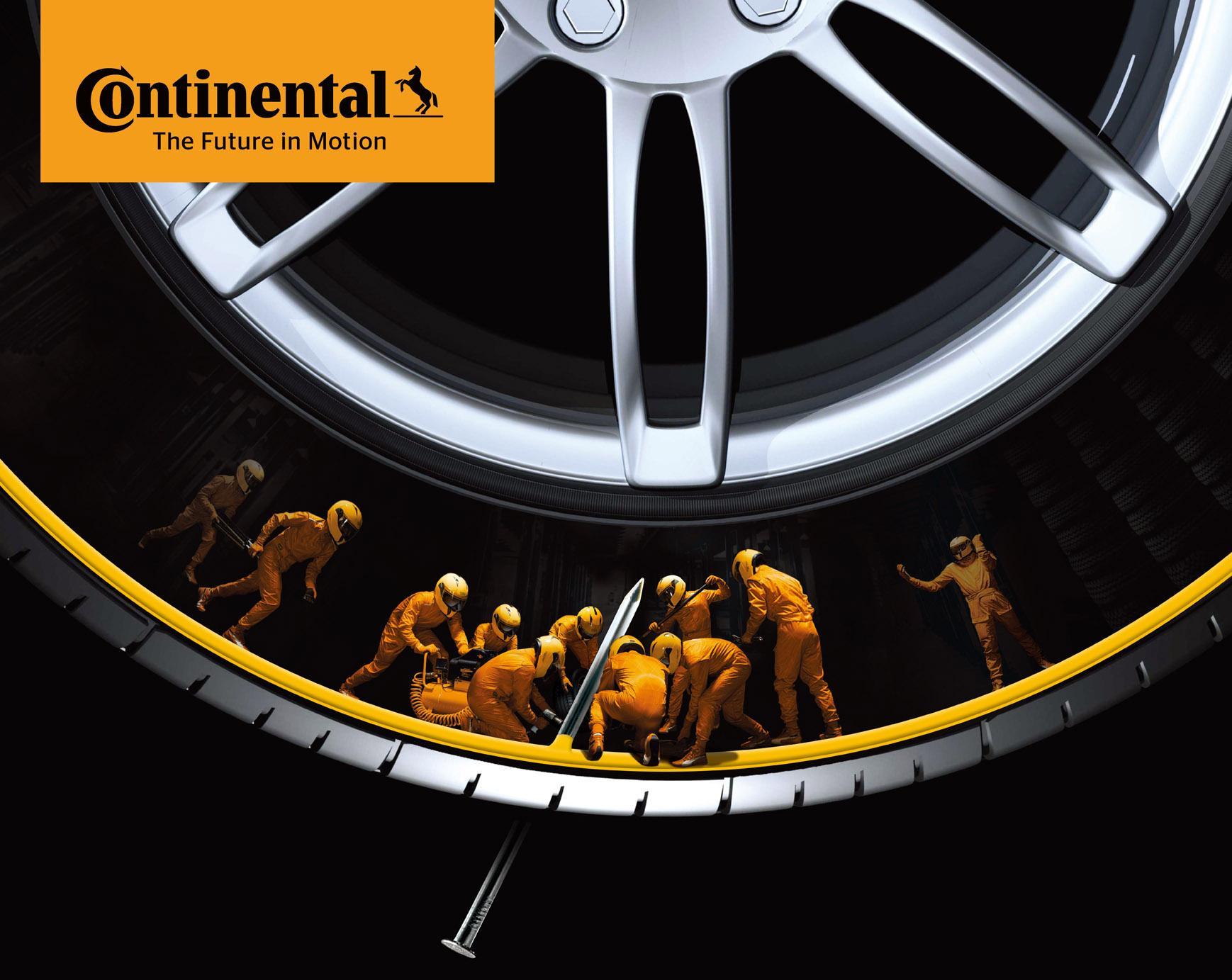 Continental наладила выпуск шин с технологией ContiSeal в Китае