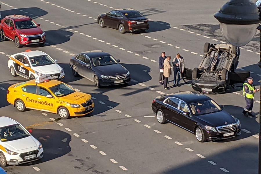 В Москве заметно уменьшилось число ДТП