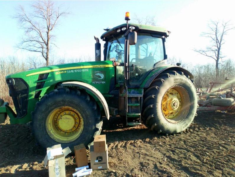 Агрошины Dneproshina Agropower проходят испытания в реальных условиях сельскохозяйственных работ