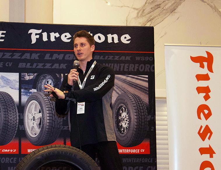 Firestone продолжает обновлять линейку шин для автомобилей американской полиции
