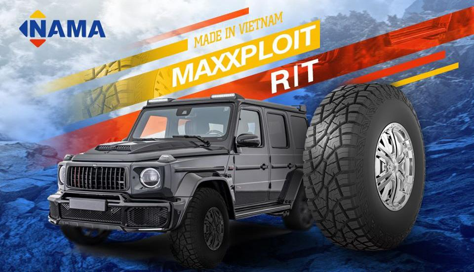 NAMA запускает новую шину Maxxploit R/T для внедорожников и пикапов