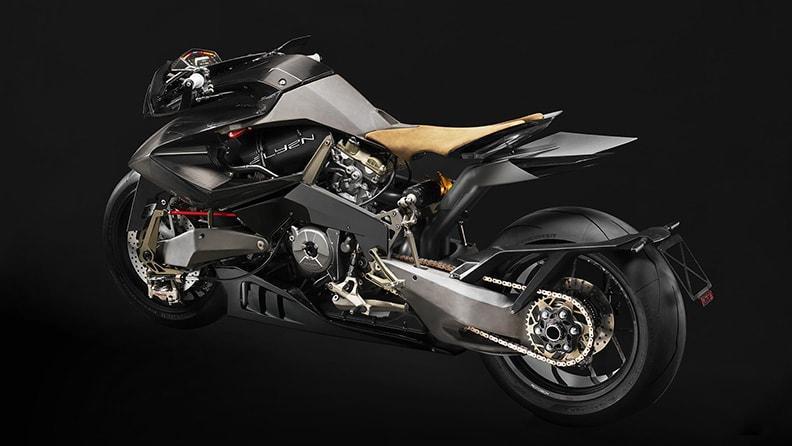 Vyrus выбрала для своего нового мотоцикла Alyen 988 «суперспортивные» шины Pirelli Diablo Supercorsa SP