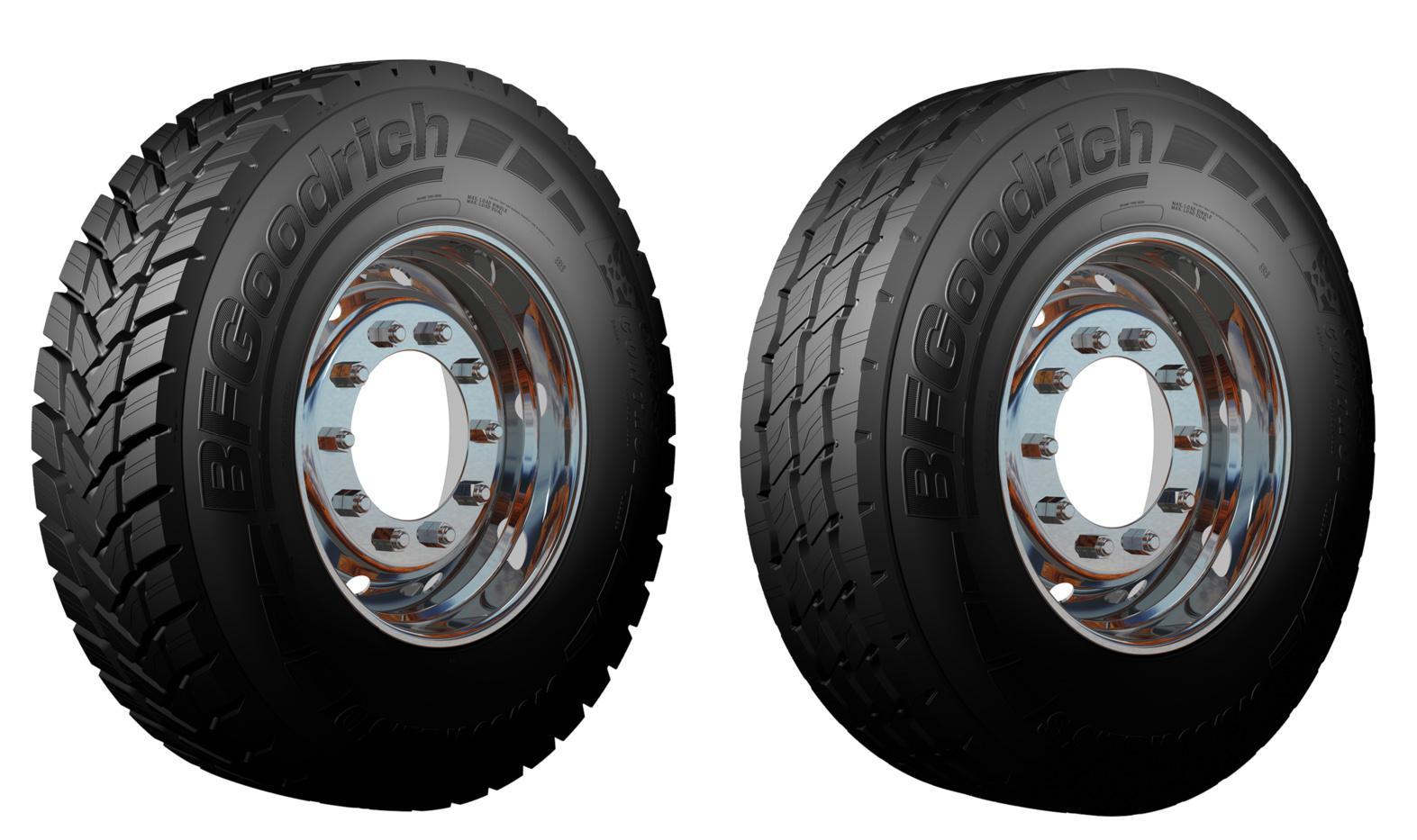 BFGoodrich представил новые всесезонки Cross Control 2 для тяжелых грузовиков