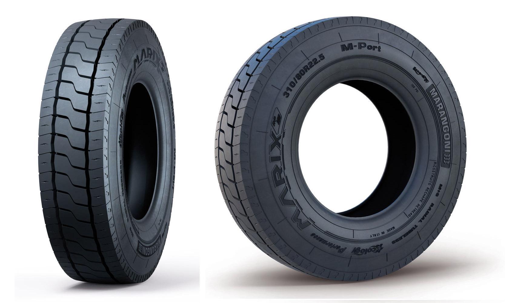 Новые грузовые шины Marix M-Port - гарантированная эффективность и надежность от Marangoni