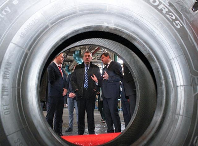 Вице-премьер Беларуси посетил «Белшину»
