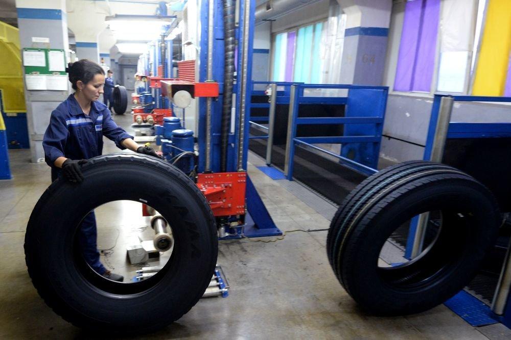 По данным Росстата производство шин в России снизилось на 12,1 процента