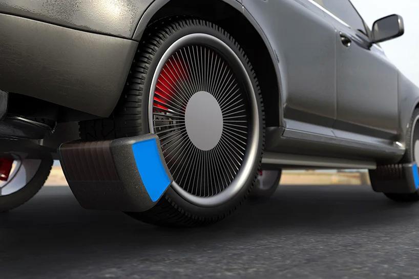 Британская The Tire Collective предлагает решение для сбора микрочастиц резины от шин