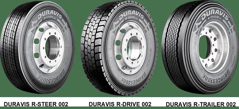 Грузовые шины Bridgestone Duravis R002 уже доступны на российском рынке