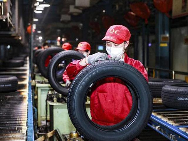 Падение производства шин в Китае по итогам первых четырех месяцев года составило 17,4 процента