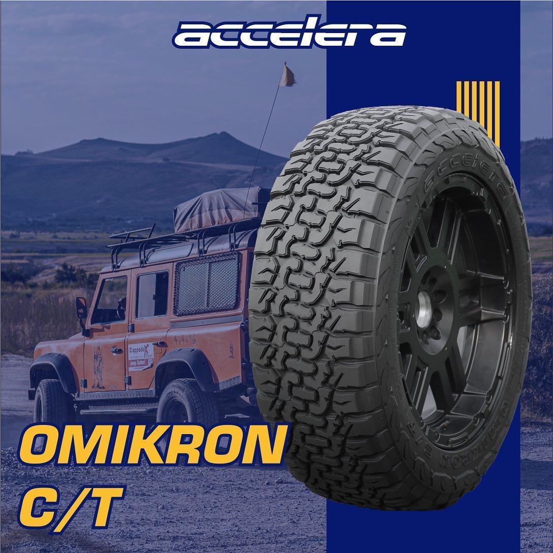 Ассортимент марки Accelera пополнила шина повышенной проходимости Omikron C/T
