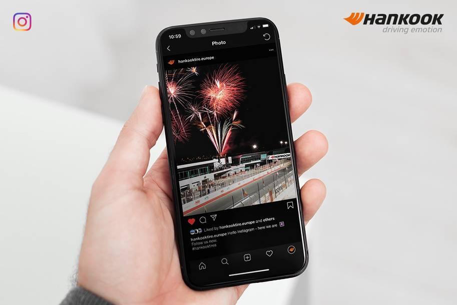 Hankook Tire запускает свой Instagram-канал в Европе