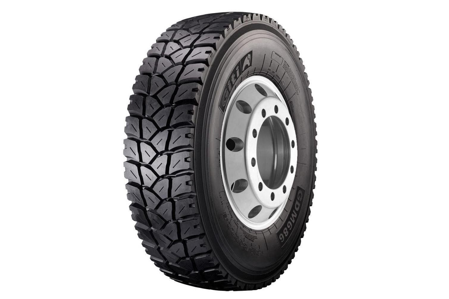 Giti Tire улучшила характеристики ходимости грузовой шины GDM686