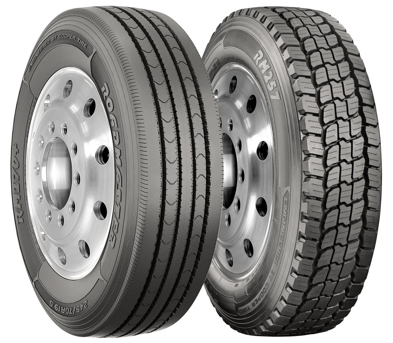 Cooper Tire представила две новые грузовые шины торговой марки Roadmaster