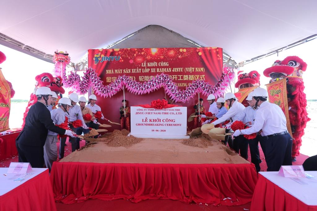 Jinyu Tire начала строительство нового завода TBR-шин во Вьетнаме