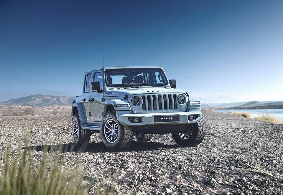 Brute Jeeps обует свои внедорожники в шины Cooper Discoverer