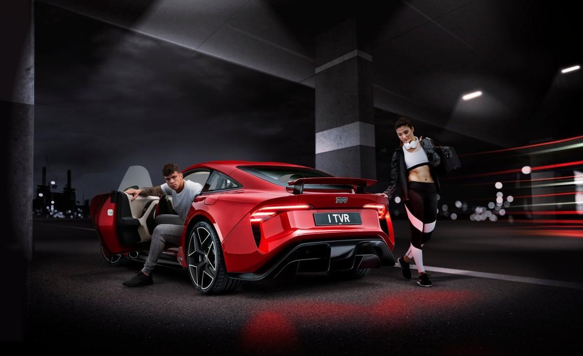 Avon Tyres будет поставлять шины для заводской комплектации TVR Griffith