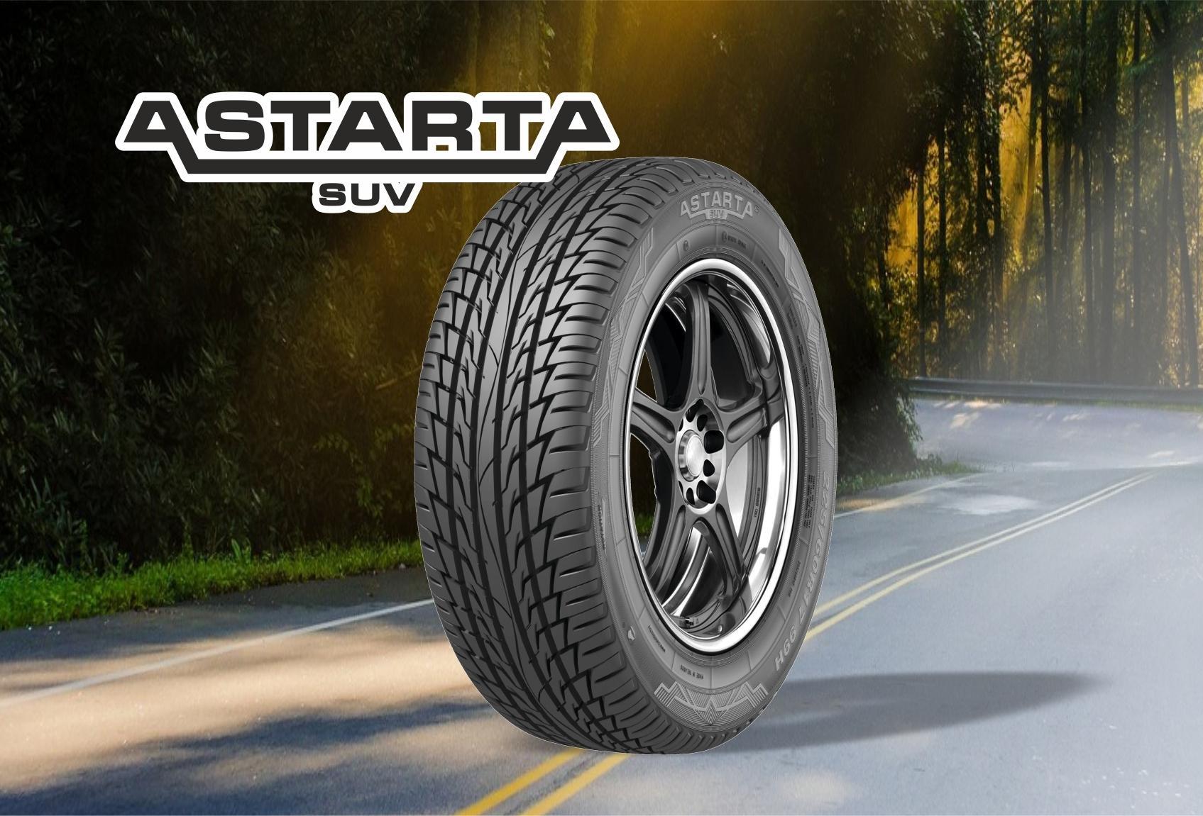Бобруйская компания представила новую летнюю шину линейки AstartA SUV