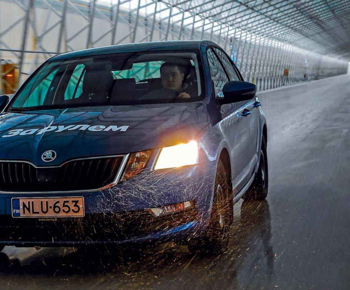 Фрикционные шины Nokian показали отменные результаты в тестах журнала «За рулем»