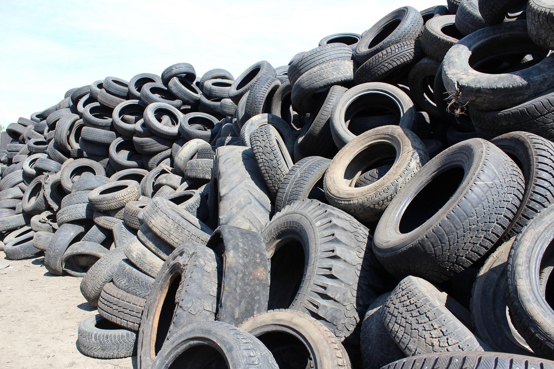 Автомобилистам Камчатки будут платить за сданные на утилизацию шины