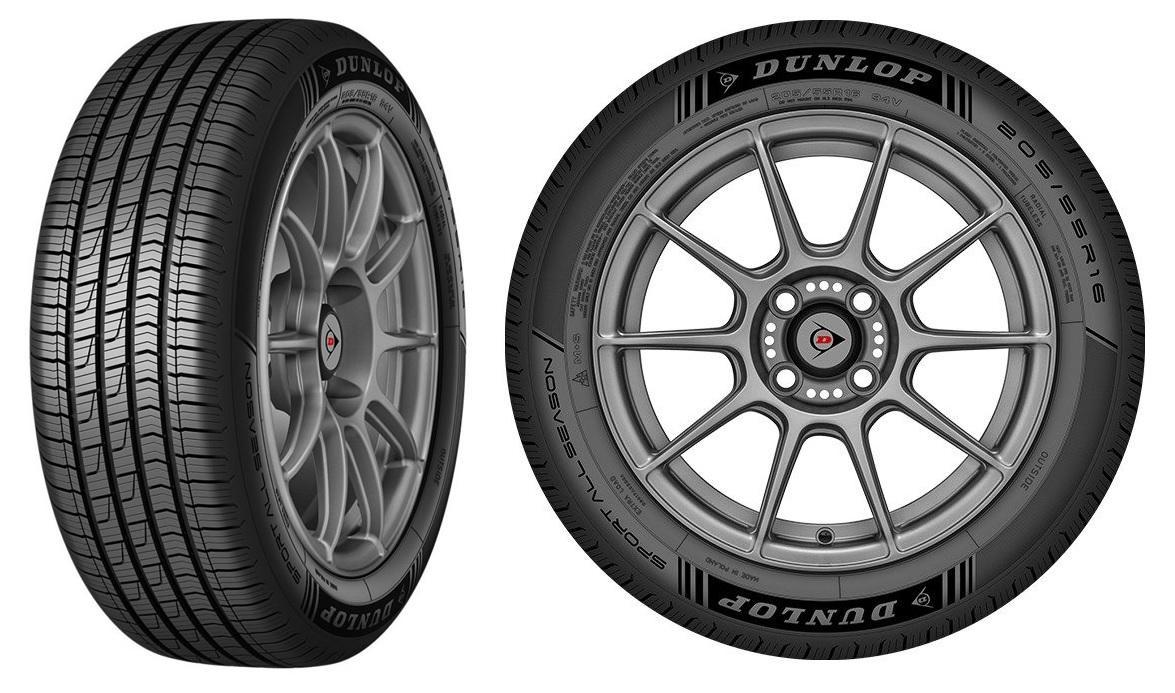 Европа ждет начала продаж новых всесезонок Dunlop Sport All Season