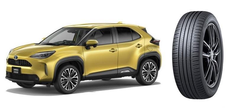 Экошины Dunlop вошли в список стандартной комплектации новых паркетников Toyota Yaris Cross