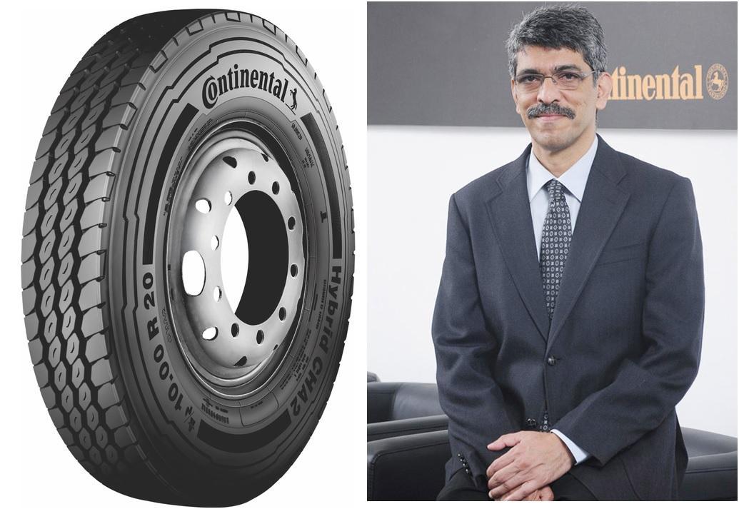 Continental India представила новую высокопрочную всепозиционку Hybrid CHA2