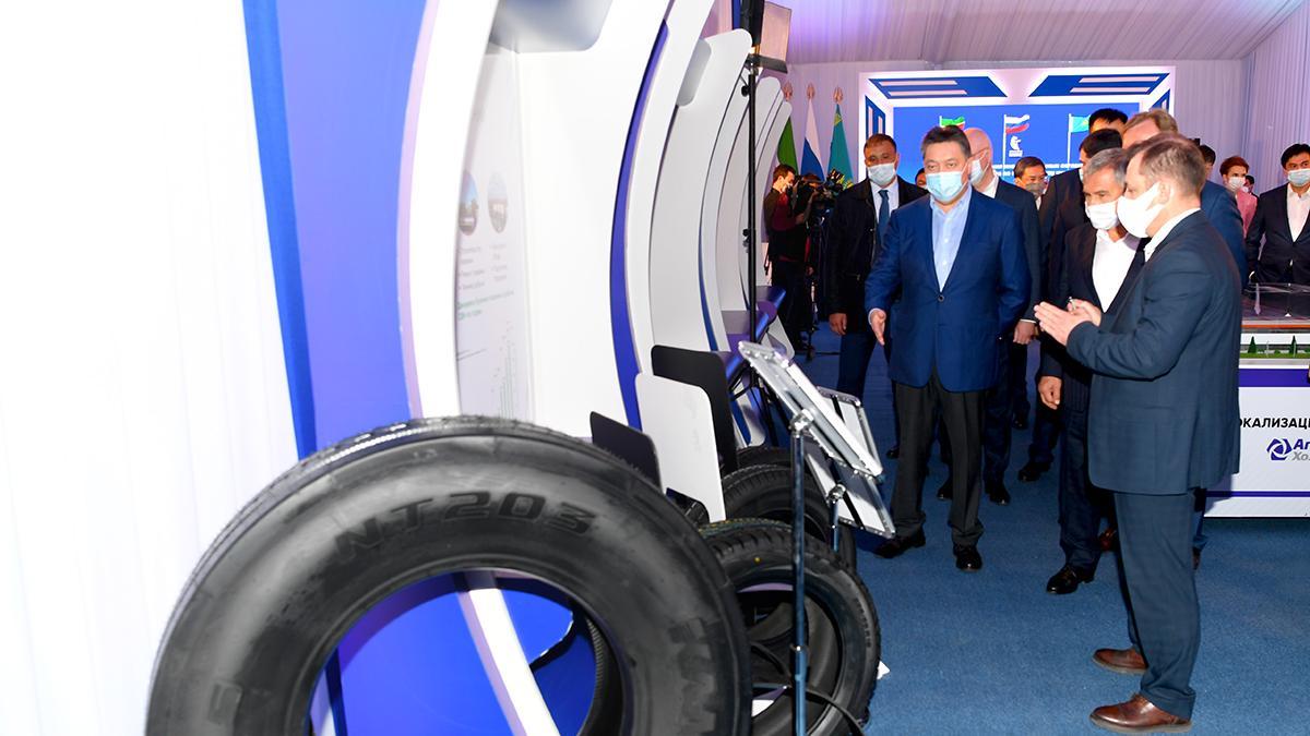 Акимат Карагандинской области и ПАО «Татнефть» подписали меморандум о строительстве шинного завода