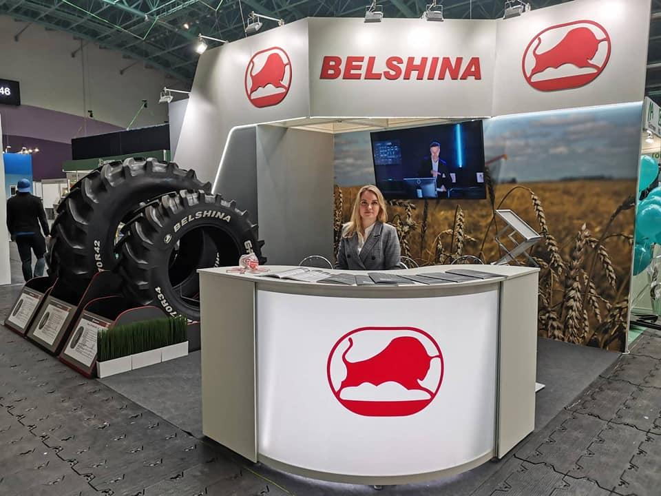 В рамках Белорусской агропромышленной недели представили белорусские шины для энергонасыщенных тракторов