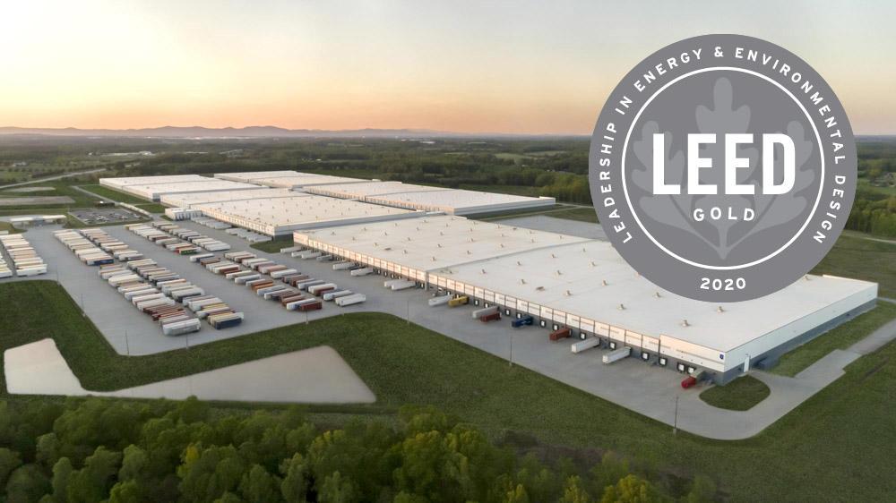 Распределительный центр Michelin в Америке получил экосертификат LEED