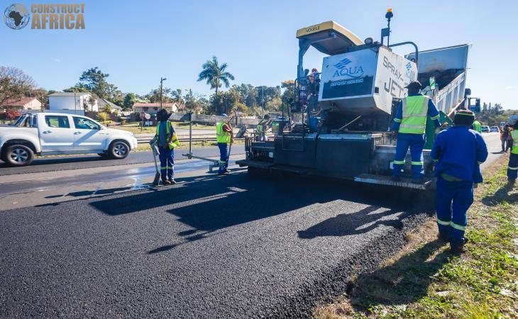 Дороги Южной Африки закатают в асфальт из переработанных шин