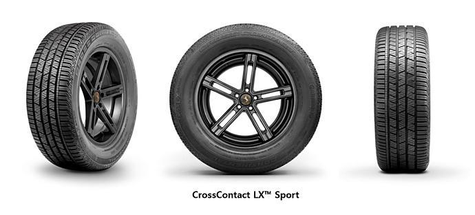 Новые Hyundai Tucson примерят спортивные шины ContiCrossContact LX Sport