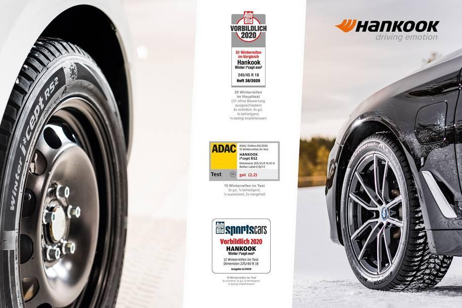 Зимние шины Hankook впечатлили экспертов европейских автожурналов