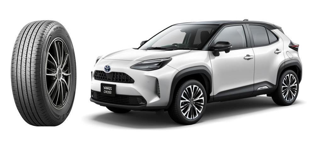 Bridgestone Turanza T005A включены в список стандартного оборудования новых Toyota Yaris Cross