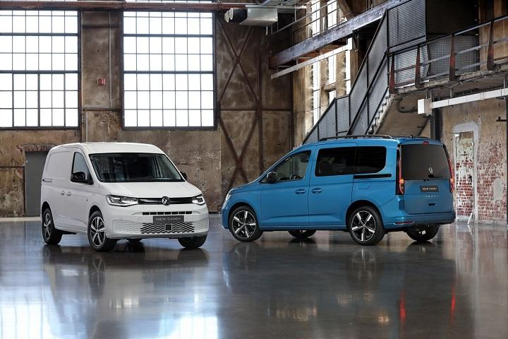 Шины Maxxis вошли в список стандартной комплектации VW Caddy 5