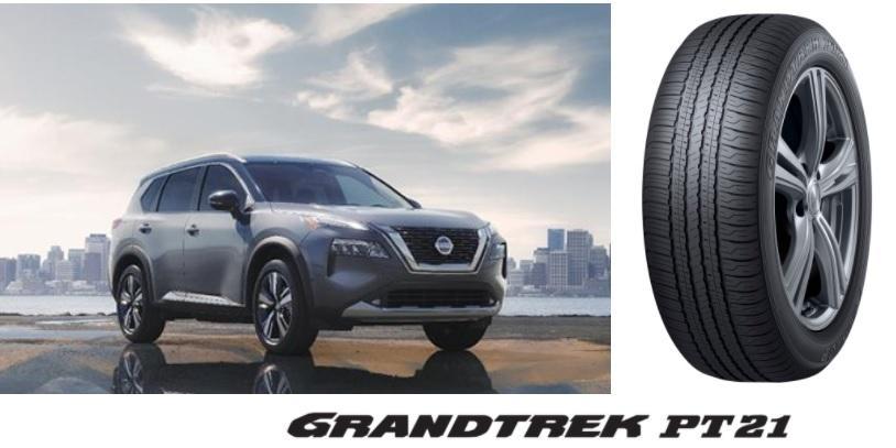 Dunlop Grandtrek PT21 выбраны в качестве стандартных шин для Nissan Rogue 2021