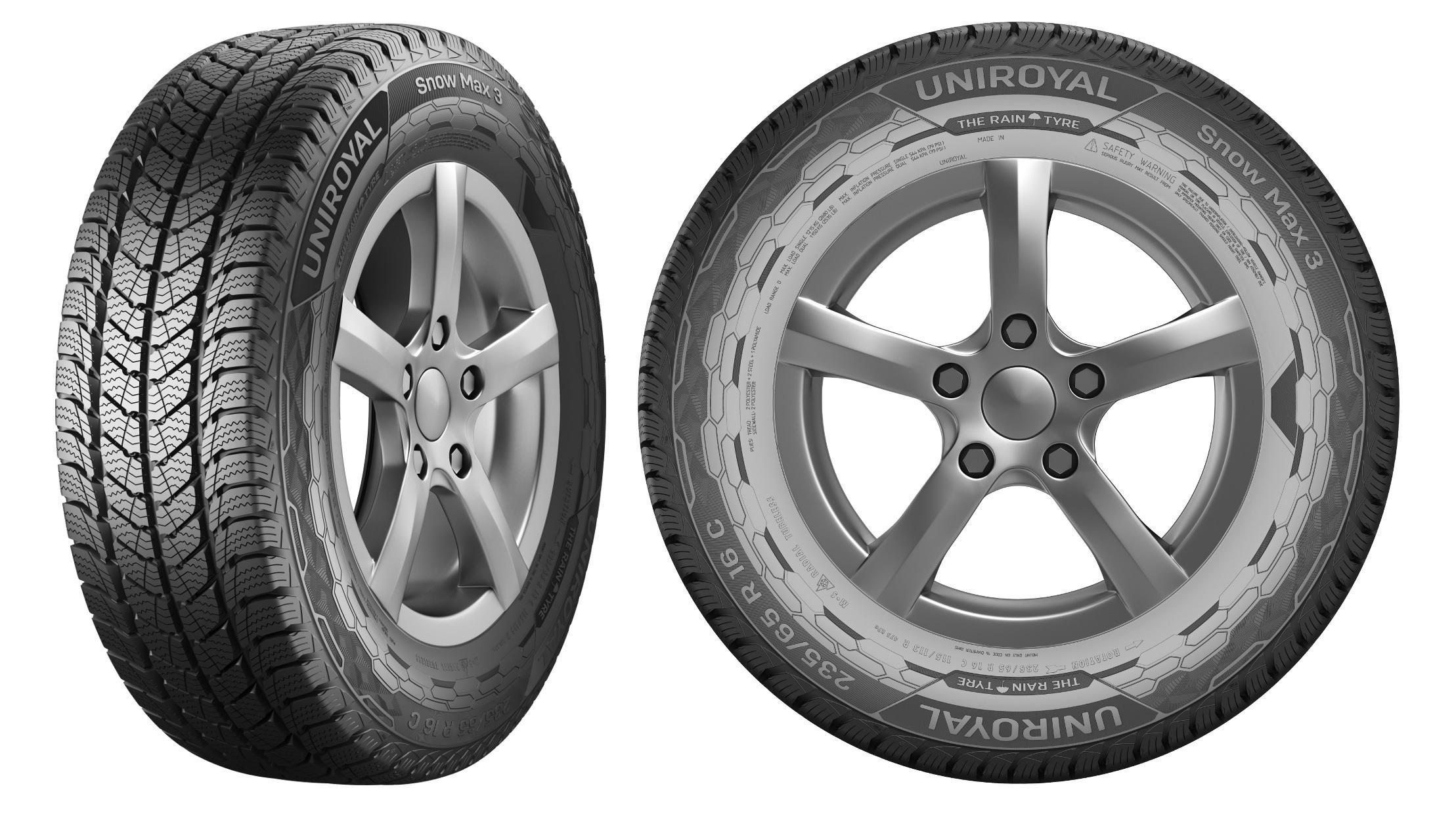 Uniroyal начинает продажи новых зимних шин Snow Max 3 для автофургонов