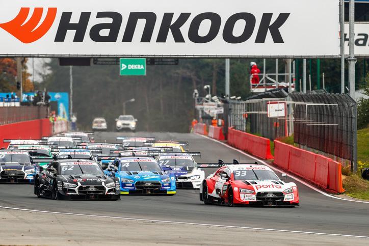 Hankook Tire завершила свой десятый сезон в серии DTM