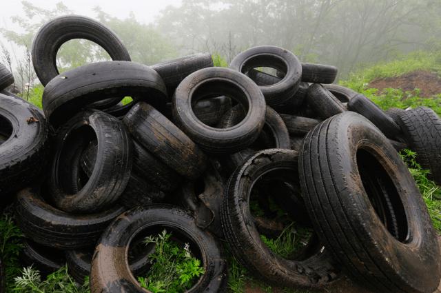 Администрация Владивостока заплатит более миллиона рублей за утилизацию 180 тонн старых шин