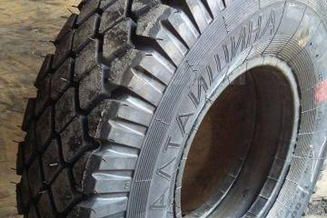 «Нортек» усовершенствовала конструкцию грузовых шин марки «Алтайшина»