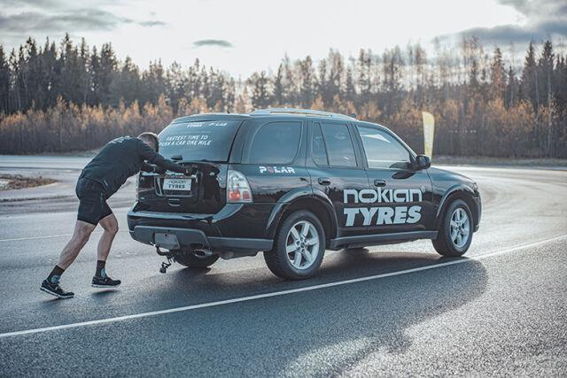 Шины Nokian Hakkapeliitta R3 SUV помогли установить новый мировой рекорд