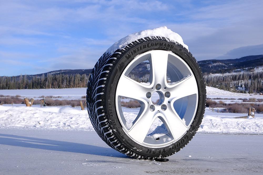 В Северной Америке стартовали продажи новой фрикционки Goodyear WinterCommand Ultra