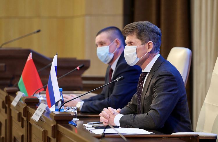 В Приморском крае обсудили вопрос наращивания поставок белорусских шин