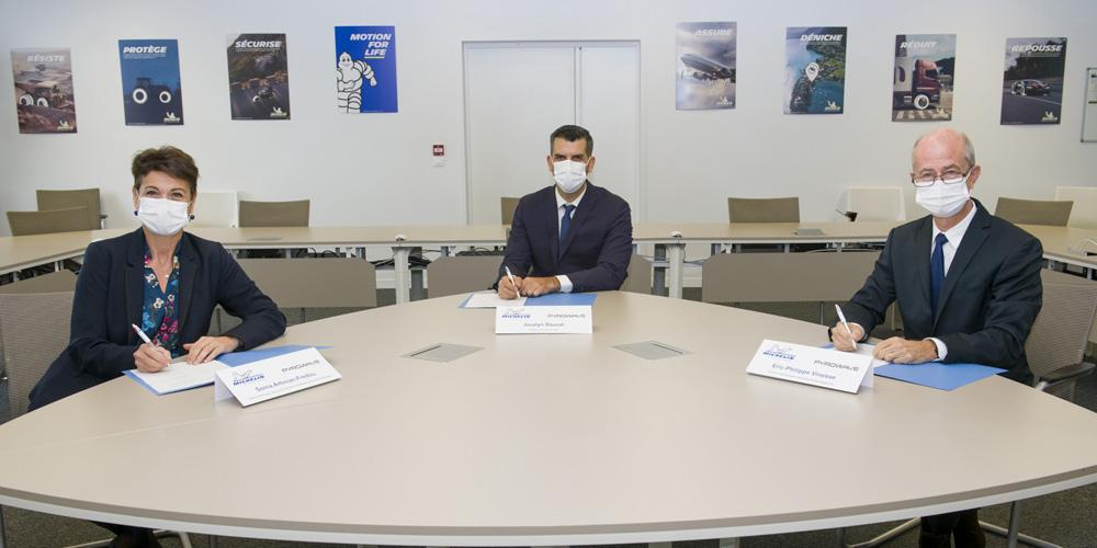 Мишлен и Pyrowave запустили совместный проект по переработке пластика в сырье для шин
