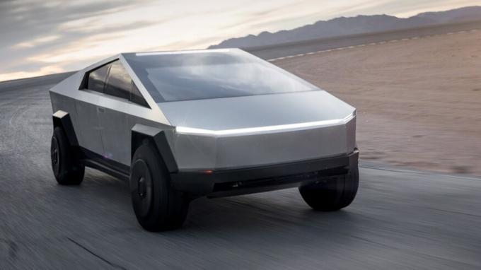 Hankook разрабатывает шины для электропикапа Tesla Cybertruck