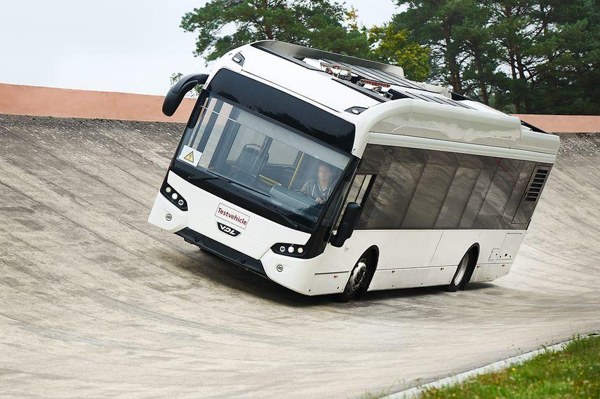 Continental тестирует шины для городских электробусов